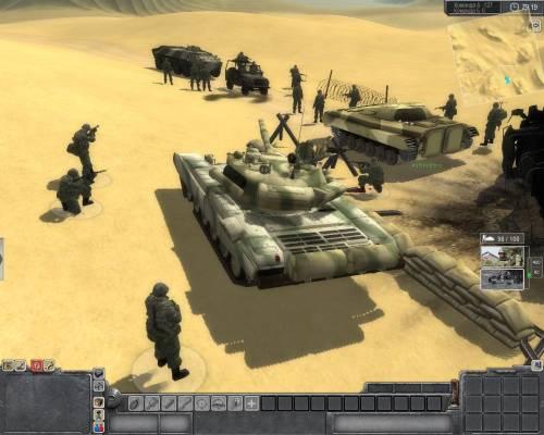 Танки: М1А2 TUSK Т-72.